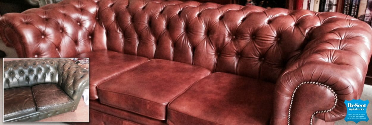 chesterfield sofa recovery