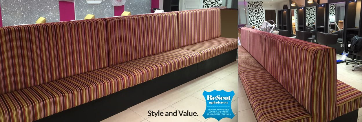 commercial sofa reupholstery specialists in Glasgow & Lanarkshire