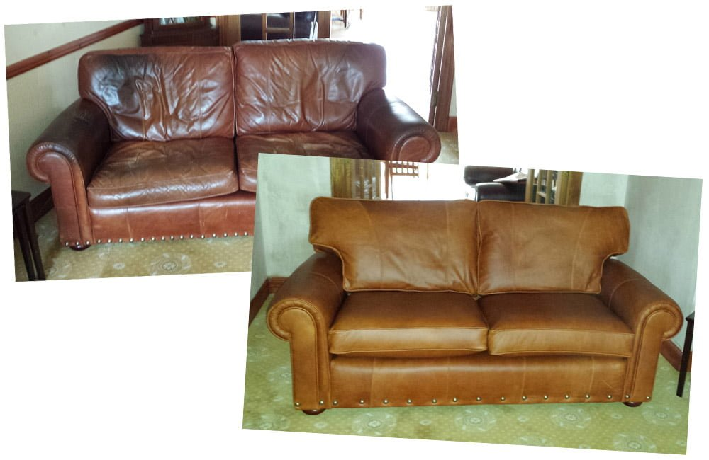 Leather Sofa Recovering Recovering Leather Sofa Leather