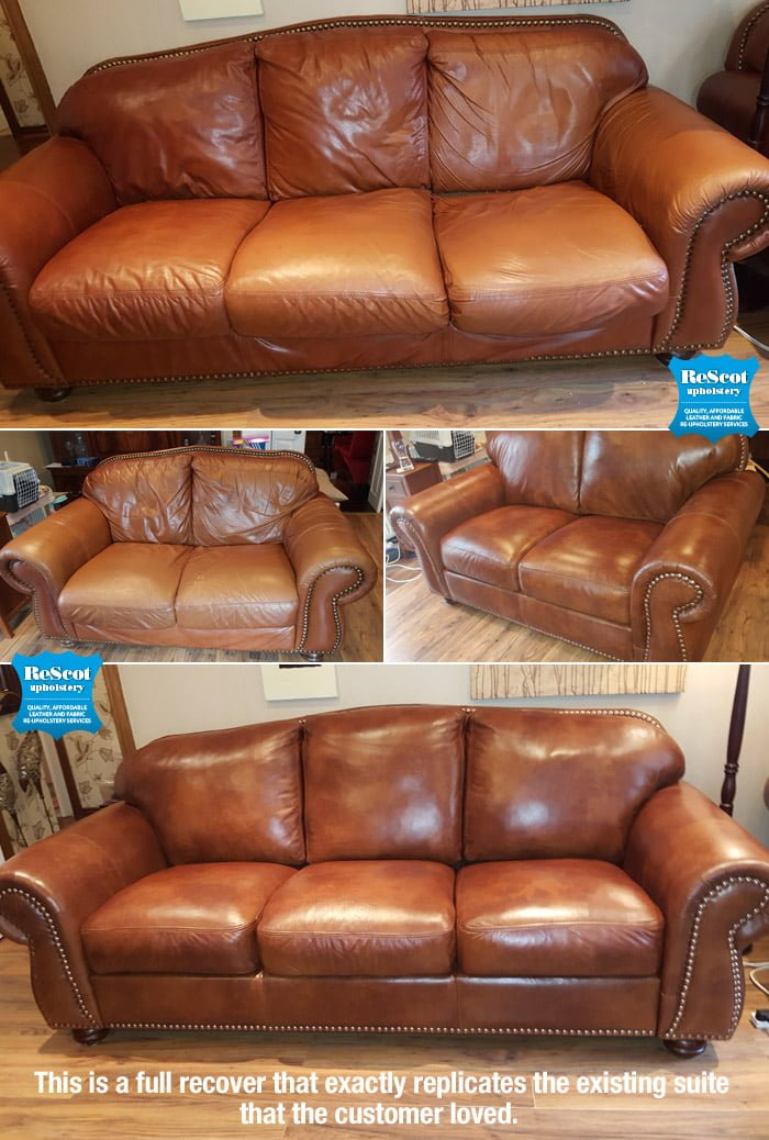 Leather Sofa Recovering Crowdbuild For