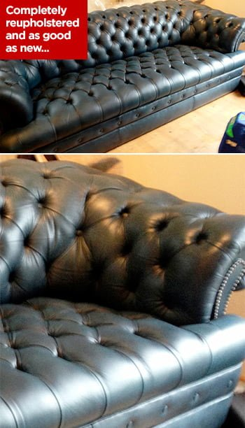 Chesterfield Reupholstery